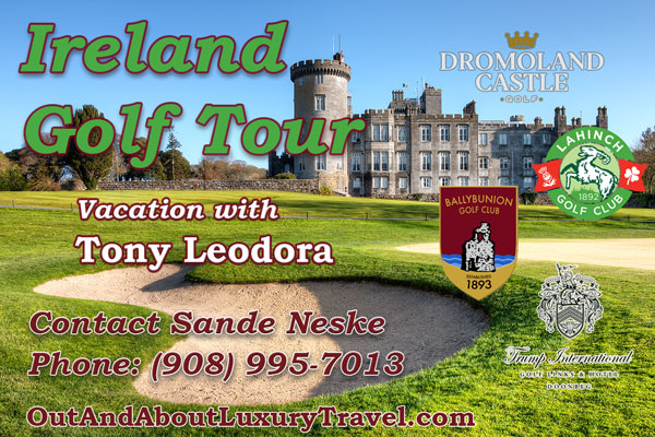 Ireland Golf Tour with Tony Leodora